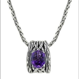 Effy amethyst necklace